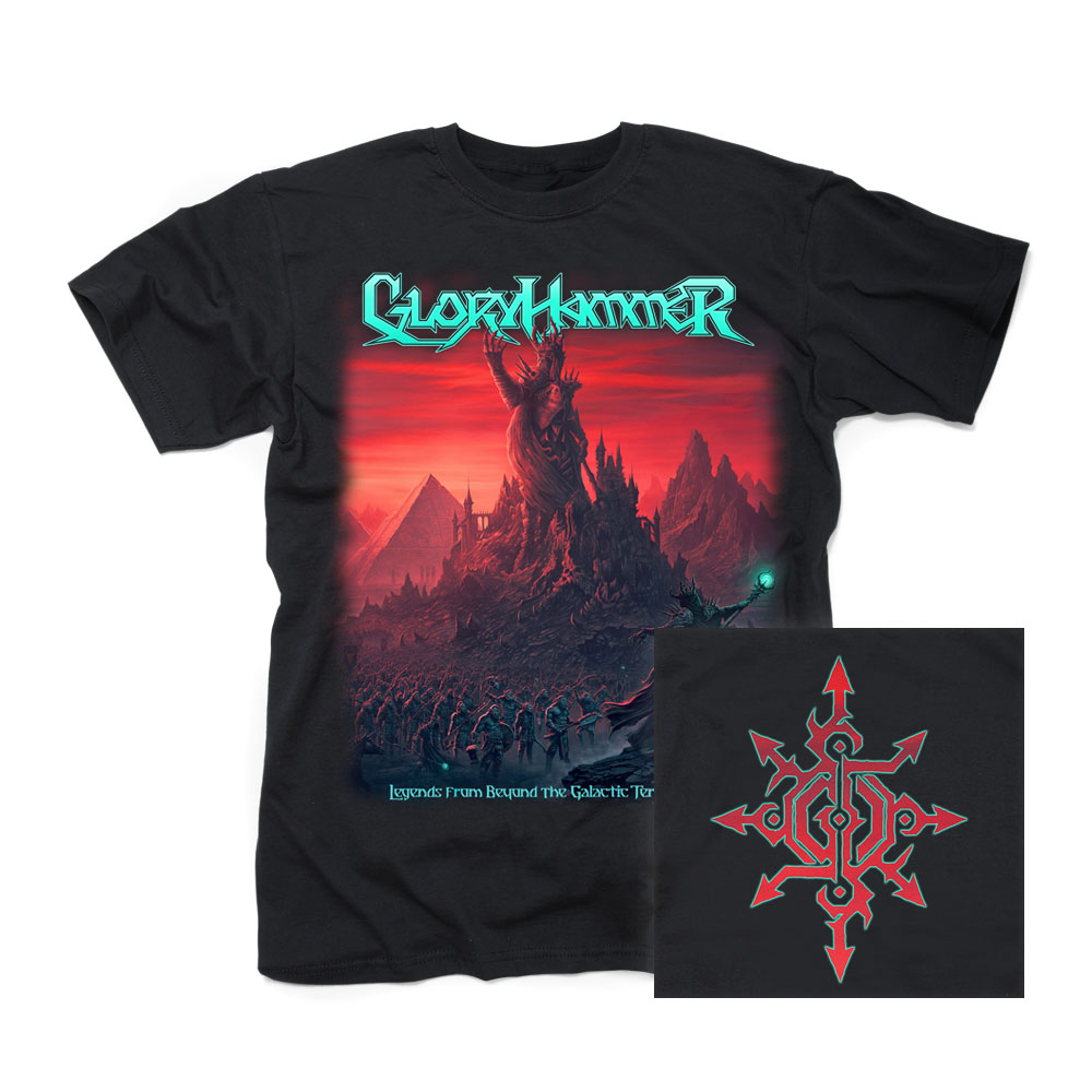 gloryhammer 2019 legends tshirt
