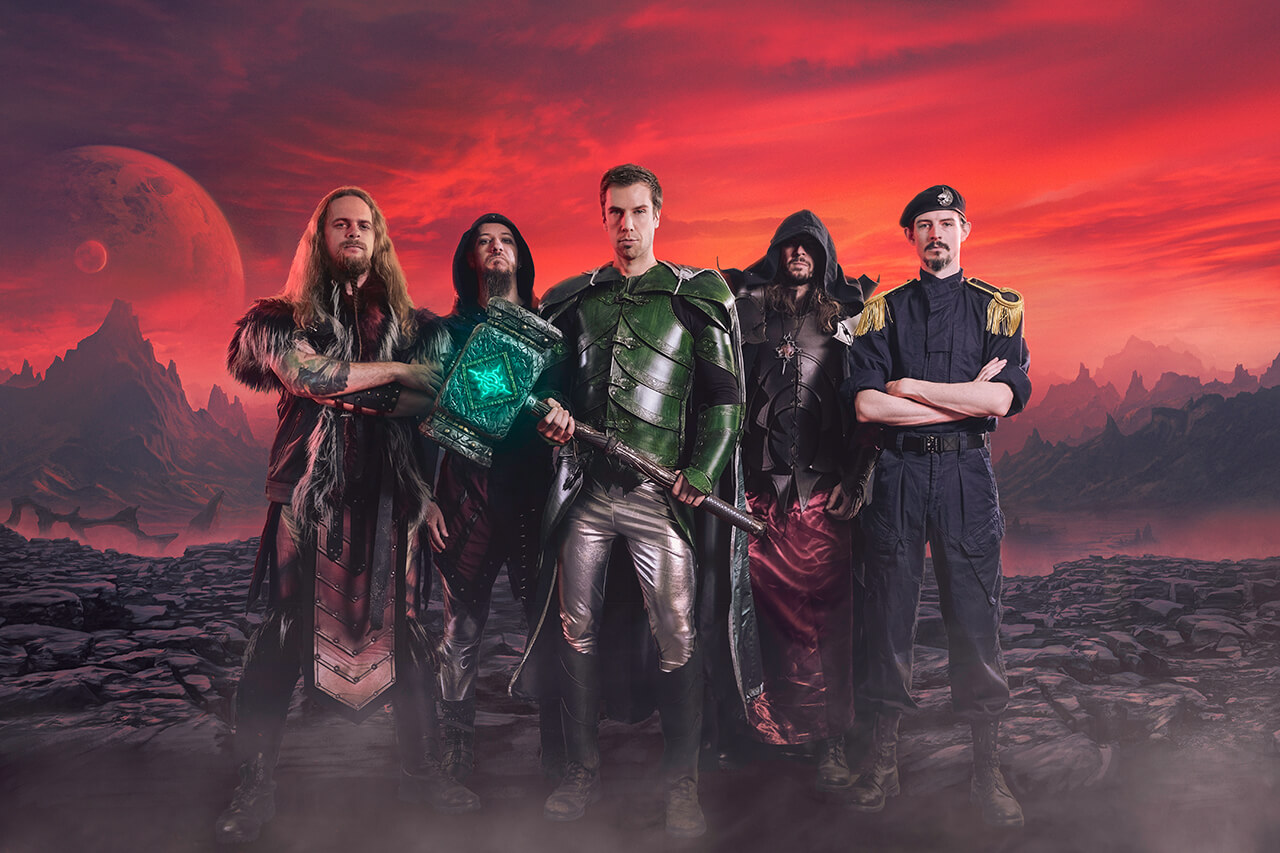 Gloryhammer 2019 Napalm Records